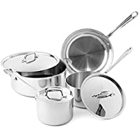 All-Clad Tri-Ply Stainless Steel 7-Piece Cookware Set + $10 Macys Money