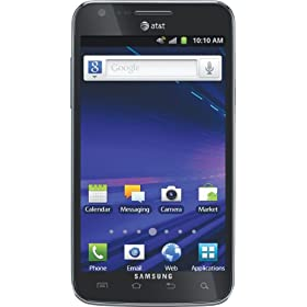 Samsung Galaxy S II Skyrocket 4G Android Phone, Black (AT&T)