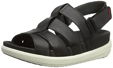 Amazon Com Fitflop Women S Sling Comber Leather Fisherman