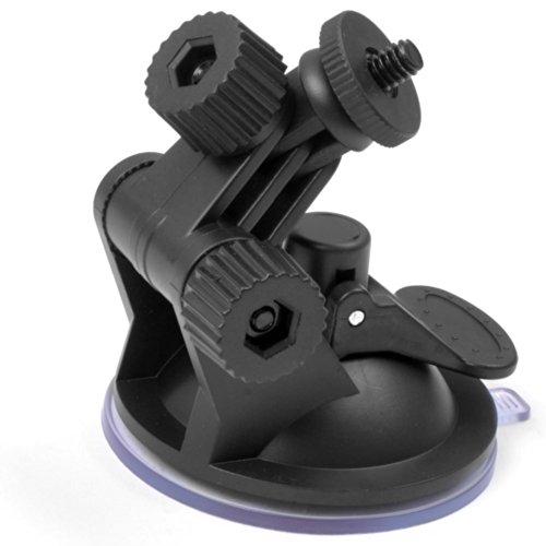 ETrance Car DVR Camera Bracket Mount Holder with 360 Degree Rotating to Fix the Device