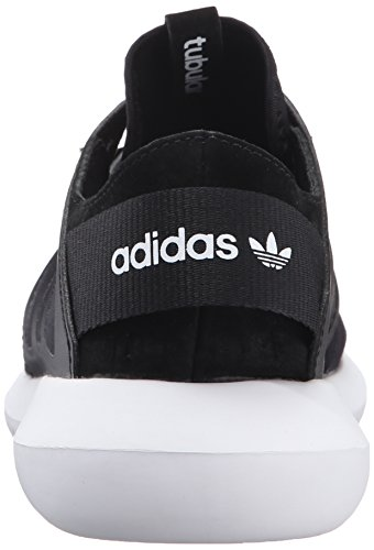 Adidas Originals Women's Tubular Viral W Fashion Sneaker, Black/Black/White, 8.5 M US