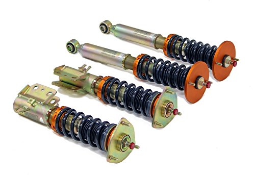 Yonaka Nissan 240SX 1995-1998 S14 Spec 2 Full Coilovers Suspension Shocks Struts Springs Damper Kit