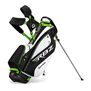 TaylorMade Rocketballz Stand Bag 2012 (Black/White/Slime Green)