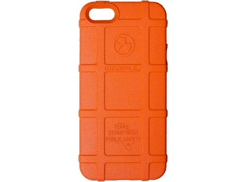 Police Tx Dps State Ol Engraved Magpul Mag452 Field Case Orange For Iphone 5 & 5S Engraved By Ndz Performance