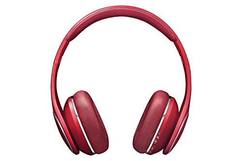 Samsung Level On Wireless Noise Canceling Headphones, Red-Retail packaging