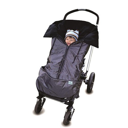 Tivoli Couture 4In1 Footmuff And Bunting System London Grey front-786019