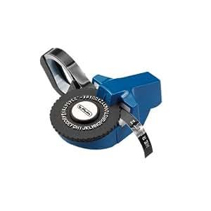 Herlitz 8754103 Prägegerät Mini mit Prägeband 1m schwarz für Bänder 9,5 mm (Farben sortiert)