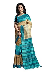 SNOVA Women's Trendy Party wear Kashmiri Cotton Silk Saree