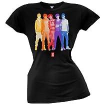 One Direction - Overlay Juniors T-shirt - Medium Black