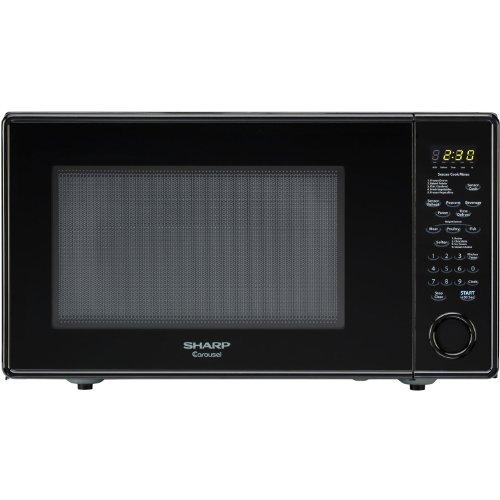 Sharp Countertop Microwave Oven Zr551zs : Sharp R559YK Sensor Microwave Black Standard Reviews Microwave Oven ...