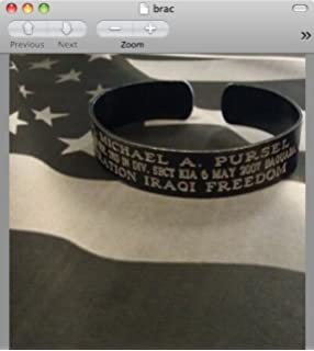 Amazon.com : KIA Memorial Bracelet : Everything Else