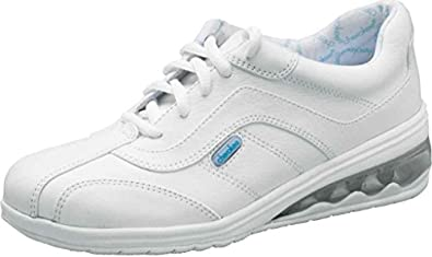 Cherokee Women s Springwave Oxford Medical Shoes WHITE 5.5 MEDIUM WIDTH