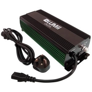 Lumii 600W Digital Ballast, Bulb & Reflector