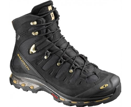 SALOMON Quest 4D GTX Men's Hiking Shoes, Black, UK9.5
