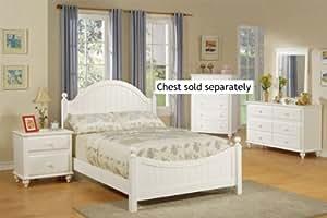 4pcs Full Size Bedroom Set Cape Cod Style