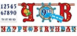 Jake & the Neverland Pirates Add an Age Jumbo Birthday Banner
