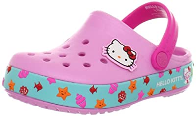 crocs Girls' Crocband Hello Kitty Mermaid Clog
