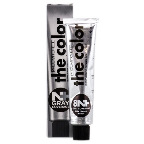 Paul Mitchell Gray Coverage Hair Color (8n+) 3 Oz