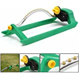 Generic 180 Degree 18 Holes Autorotation Sprinkler Garden Lawn Irrigation Cooling Spray Head