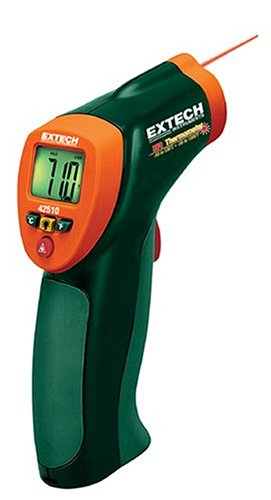 Extech 42510 Mini Wide Range -58 Degree To 1000 Degree Farenheit And -50 Degree To 538 Degree Celsius Infrared Thermometer