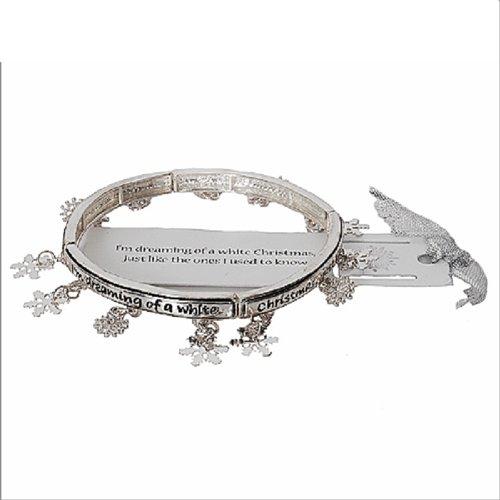 Christmas Theme W Multi Charms Bracelet #041453