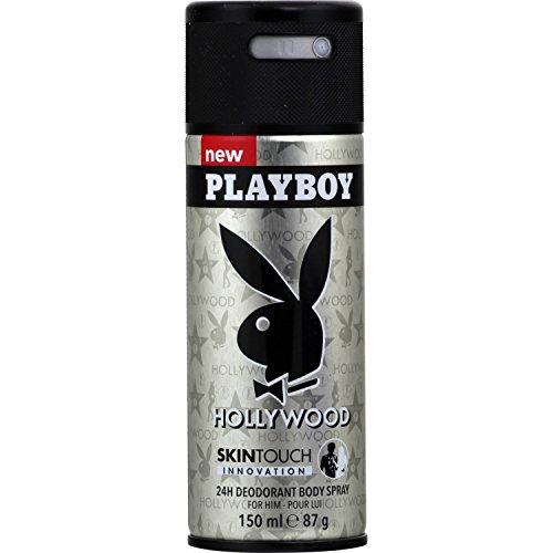 Deodorante Playboy Hollywood-Set di 3es.