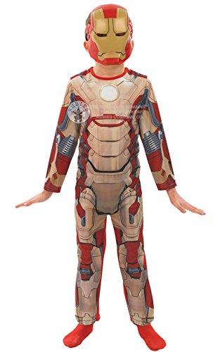 Marvel Iron Man 3 Jungen Kostüm 3-4 Jahre