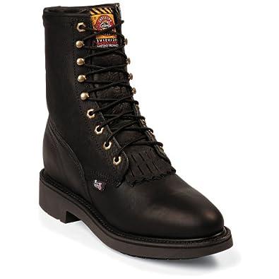 Amazon.com: Justin Original Work Boots Men's Double Comfort Work Boot