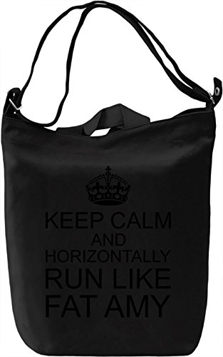 keep-calm-and-horizontally-run-like-fat-amy-bolsa-de-mano-dia-canvas-day-bag-100-premium-cotton-canv