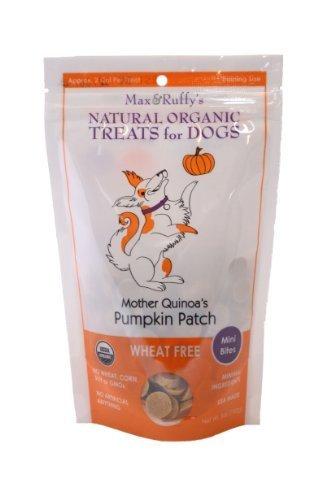 max-ruffys-mother-quinoas-pumpkin-patch-organic-wheat-free-5-ounce-dog-treats-mini-bites-by-max-ruff