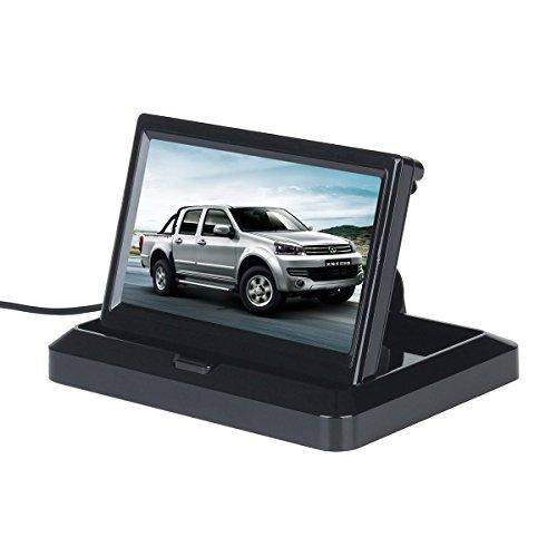 Atian-178-cm-Hohe-Auflsung-800-480-unterstt-1024-768-TFT-LCD-Display-Monitor-mit-HDMI-VGA-Eingang-DVD-VCR-Auto-Rckfahrkamera-Kopfsttze-Monitor-Fernbedienung-AC-Ladegert