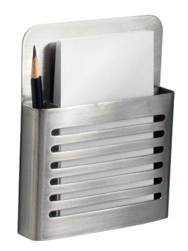 Shop Stainlesssteelsinks Interdesign Magnetic Memo Center