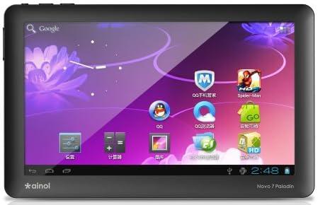 ainol NOVO7 Paladin 8G Android4.0搭載7インチタブレットPC ブラック