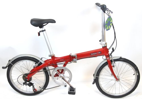 DAHON ECO 6 Brick Red Folding Bike 20