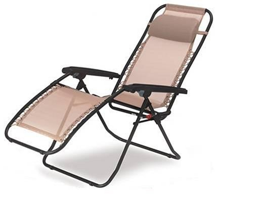 Pacific Outdoors 17-LC120 La Chaise Folding Recliner