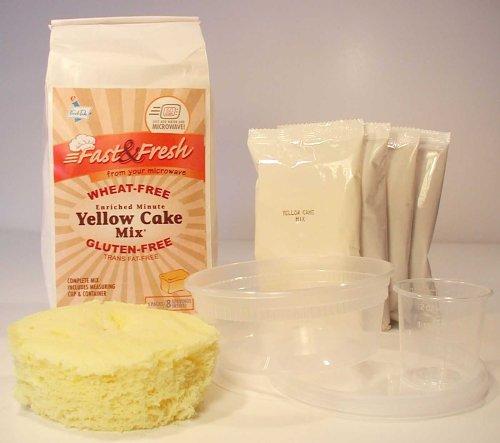 Microwave Yellow Cake Kit Gf Df