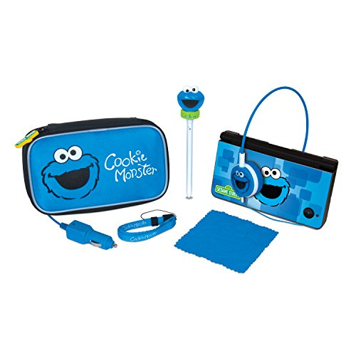 dreamgear-sesame-street-7-in-1-travel-kit-for-nintendo-dsi-xl-dsi-and-ds-lite-cookie-monster