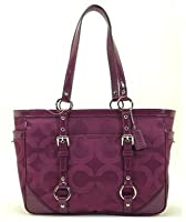 Coach 19404 Op Art Sateen Gallery Tote