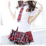 超かわいいAKB 風 セーラー服 女子学生 コスプレ S M L サイズ  (L)