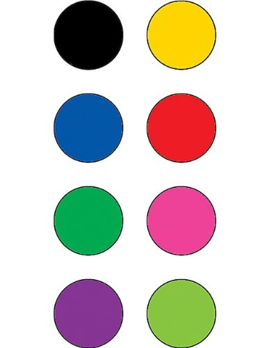 Teacher Created Resources Colorful Circles Mini Stickers, Multi Color (4820)