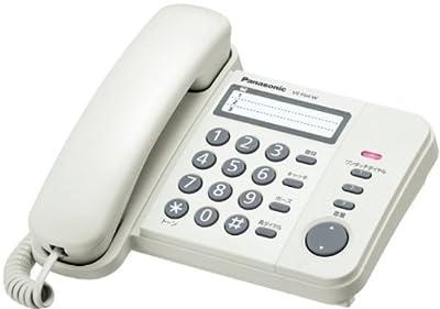 Panasonic デザインテレホン ホワイト VE-F04-W