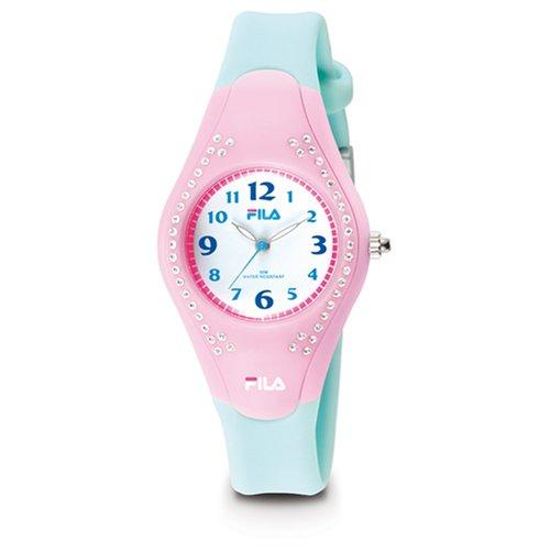 Fila FA0525-05 - Orologio da polso donna, plastica, colore: blu