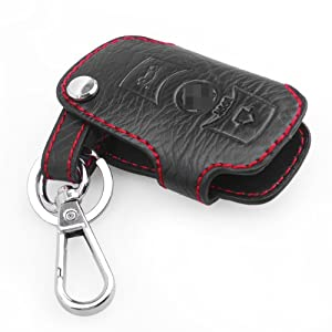 Smart Key Chain Leather Holder Cover Case Fob Remote For Bmw 3 5 X Series by PHgiveU