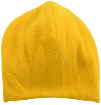 Lots 2 Pcs Wholesale Unisex Fleece Hat Solid Color Beanie Skull Watch Cap - Gold
