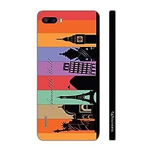 Enthopia Designer Hardshell Case Seven Wonders Back Cover for Huawei Honor 6 Plus