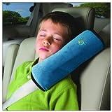 SH-カーグッズ  車 シートベルト 枕 車内泊 車中泊 旅行 睡眠 グレー