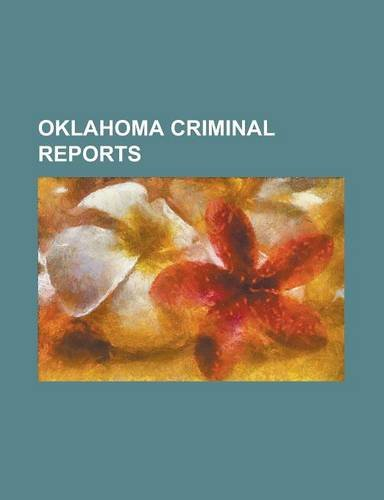 Oklahoma criminal reports Volume 14