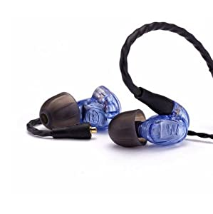 Westone UM Pro10 High Performance Single Driver Noise-Isolating In-Ear Monitors - Blue, 78551