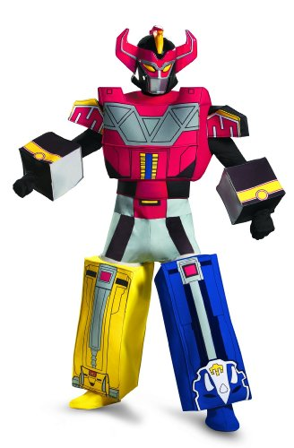 Men's Mighty Morphin Power Rangers Megazord Costume, X-Large/42-46
