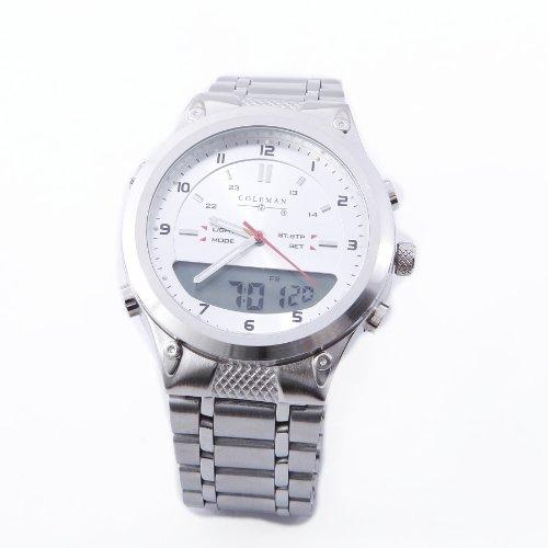 coleman digital watch instruction manual